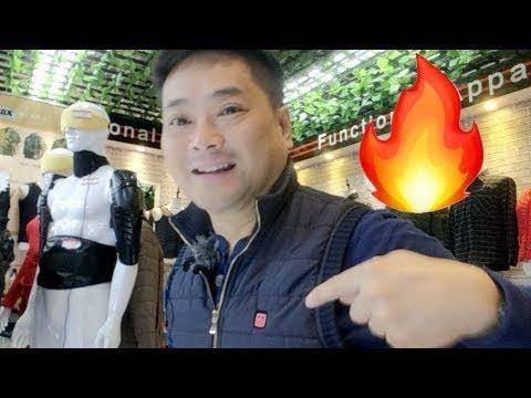 "Self Heating Jackets in China ??? ""Huaqiangbei"""