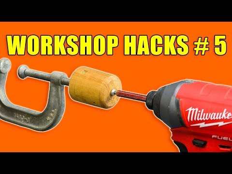 Quick Workshop Hacks Part 5: Woodworking Tips and Tricks