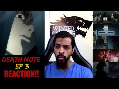 "Death Note Episode 3 REACTION/REVIEW!!!! ""Dealings"""