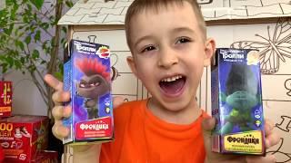Руслан умеет считать игрушки из ВОЛШЕБНОЙ КОРОБКОЙ | РОМАРИКИ