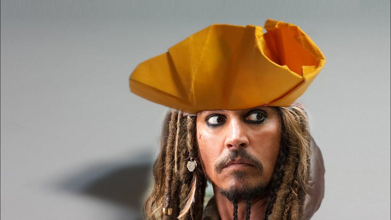 Origami Pirate Hat Tutorial