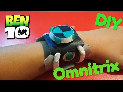 How to make a ben 10 watch (4 types) OMNITRIX
