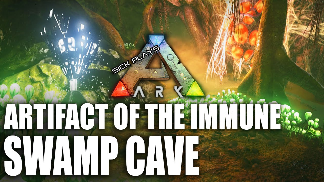 ARK Survival Evolved SWAMP CAVE - Artifact of the Immune - Eggcellent UPDATE