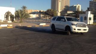 Toyota Sequoia Drifting in libya / 2014
