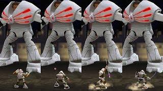 Space Turtles VS Baxter Stockman - Teenage Mutant Ninja Turtles Legends