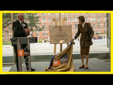 Breaking News | Princess royal opens new £57 million building at royal holloway