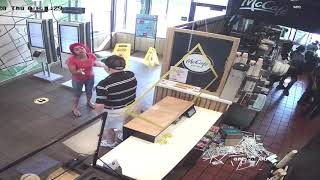 Customer loses it at Indianapolis McDonald's, tries to fight employee after slap