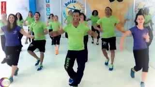 BAILEACTIVO   Si Tú Me Besas (salsa coreografia)