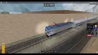 Train ROBLOX Amtrak AEM7