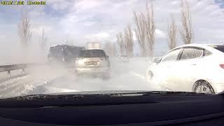 Трасса Армавир-Кропоткин 30.11.2018г.