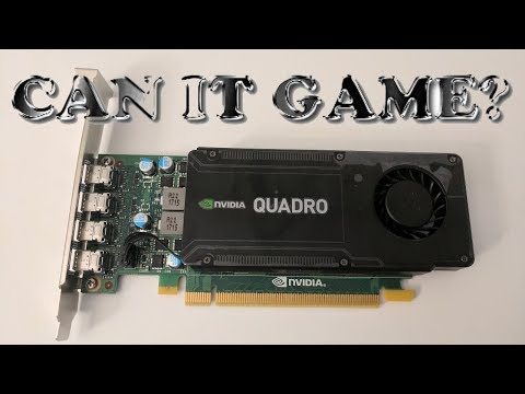 Can You Game on a Workstation Grade Graphics Card?