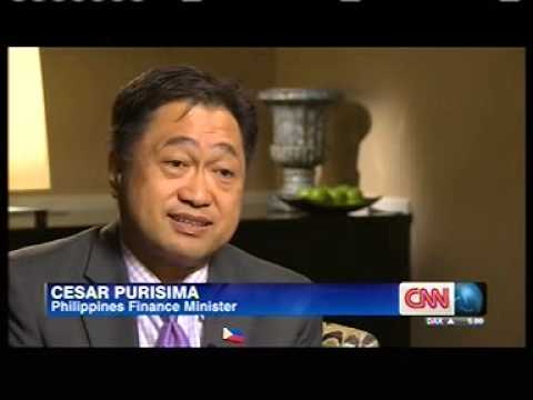 CNN, World Biz Today, 4pm, 03 Oct 2013 Cesar Purisima