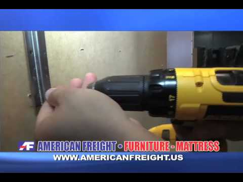American Freight How To's: How To Attach A Mirror To A