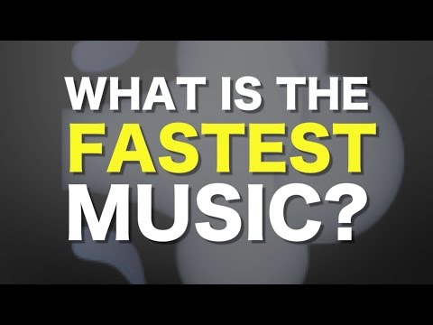 What is the fastest music humanly possible?