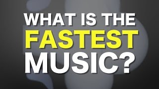 One of Adam Neely's most viewed videos: What is the fastest music humanly possible?