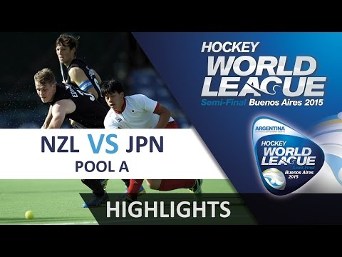 New Zealand v Japan Match Highlights