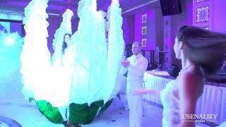 Свадьба в Бишкеке Выход Молодоженов www.alana-show.kg