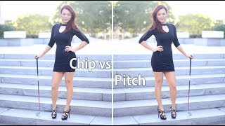 Chip vs Pitch | Golf with Aimee