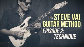 The Steve Vai Guitar Method - Episode 2 - Technique