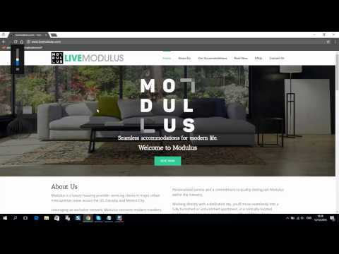 Website design for accommodation – unique WordPress theme for sale