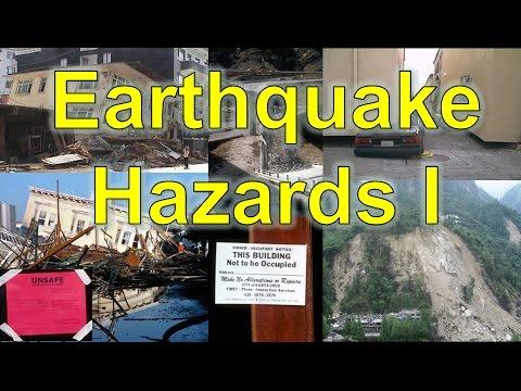 Earthquake Hazards I: Ground Failure