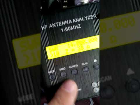 MR300 antenna analyzer not working properly
