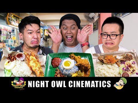 FOOD KING SINGAPORE: Crazy $22 Nasi Lemak?!
