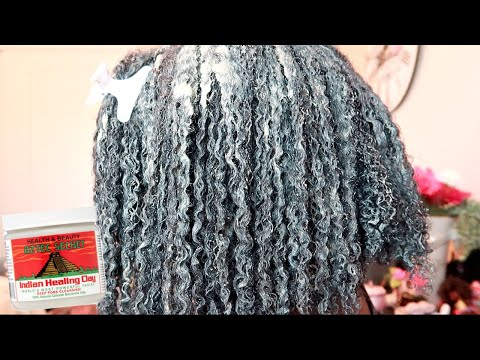 bentonite-clay-mask-+-deep-conditioning-(tgin)-for-soft-moisturized-natural-hair