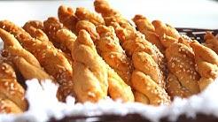 Солени курабийки. Най-крехките,ронливи и вкусни соленки !💯Много бързи и лесни👩🍳/Sesame cookies