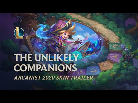 Arcanist 2020: The Unlikely Companions   Official Skins Trailer - League of Legends