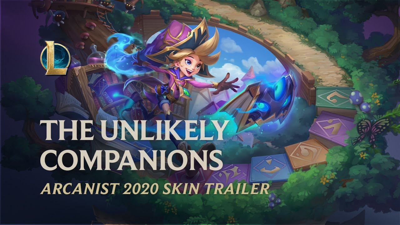 Arcanist 2020: The Unlikely Companions | Official Skins Trailer - League of Legends