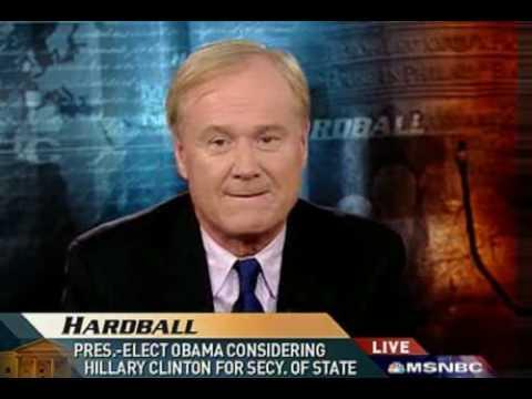 Chris Matthews Pros And Cons Hillary Clinton As SoS