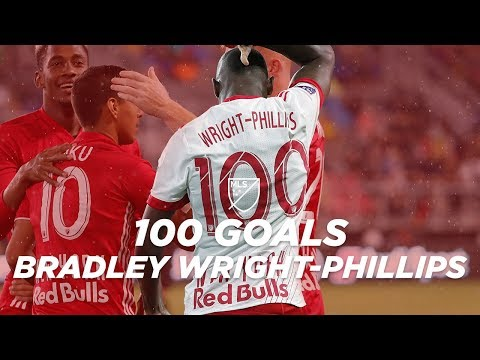 All 100 Goals For RBNY's Bradley Wright-Phillips