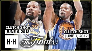 SAME SPOT, SAME RESULT! Kevin Durant Full Game 3 Highlights vs Cavaliers in 2017 & 2018 NBA Finals!