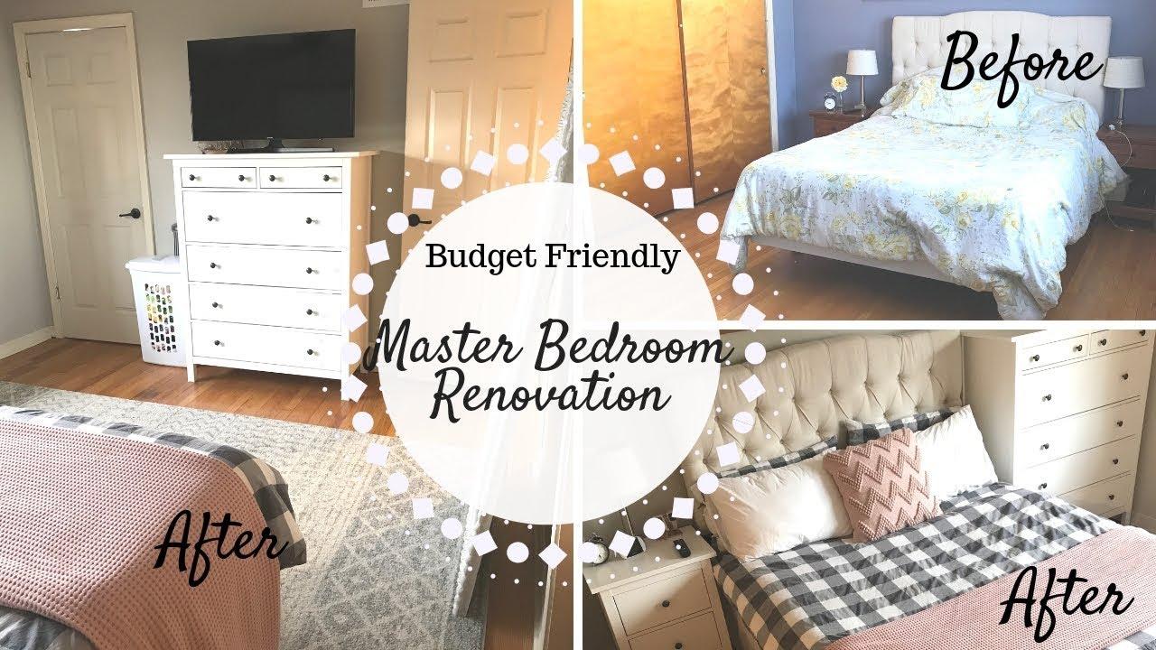 Master Bedroom Renovation Budget Friendly You