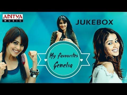 My Favourite ♥ Genelia ♥ Telugu Hit Songs Jukebox