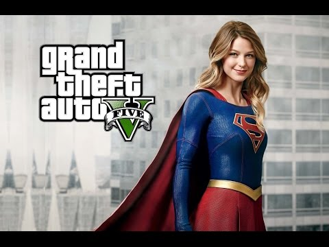 GTA 5 Mods - Play as SUPERGIRL (Superhero Mod)