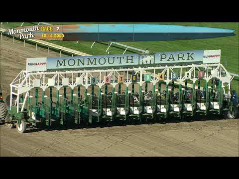 video thumbnail for MONMOUTH PARK 10-14-20 RACE 7