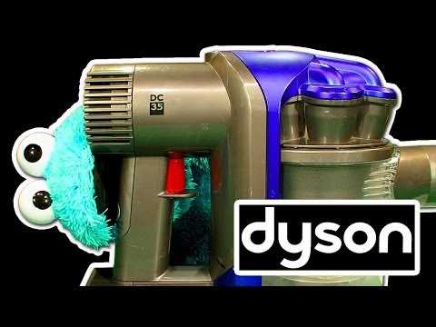 Dyson DC35 Digital Slim Smashing Cleaning & Maintenance Tech Review