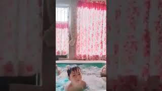 Swimming ng aking mag ina!!!
