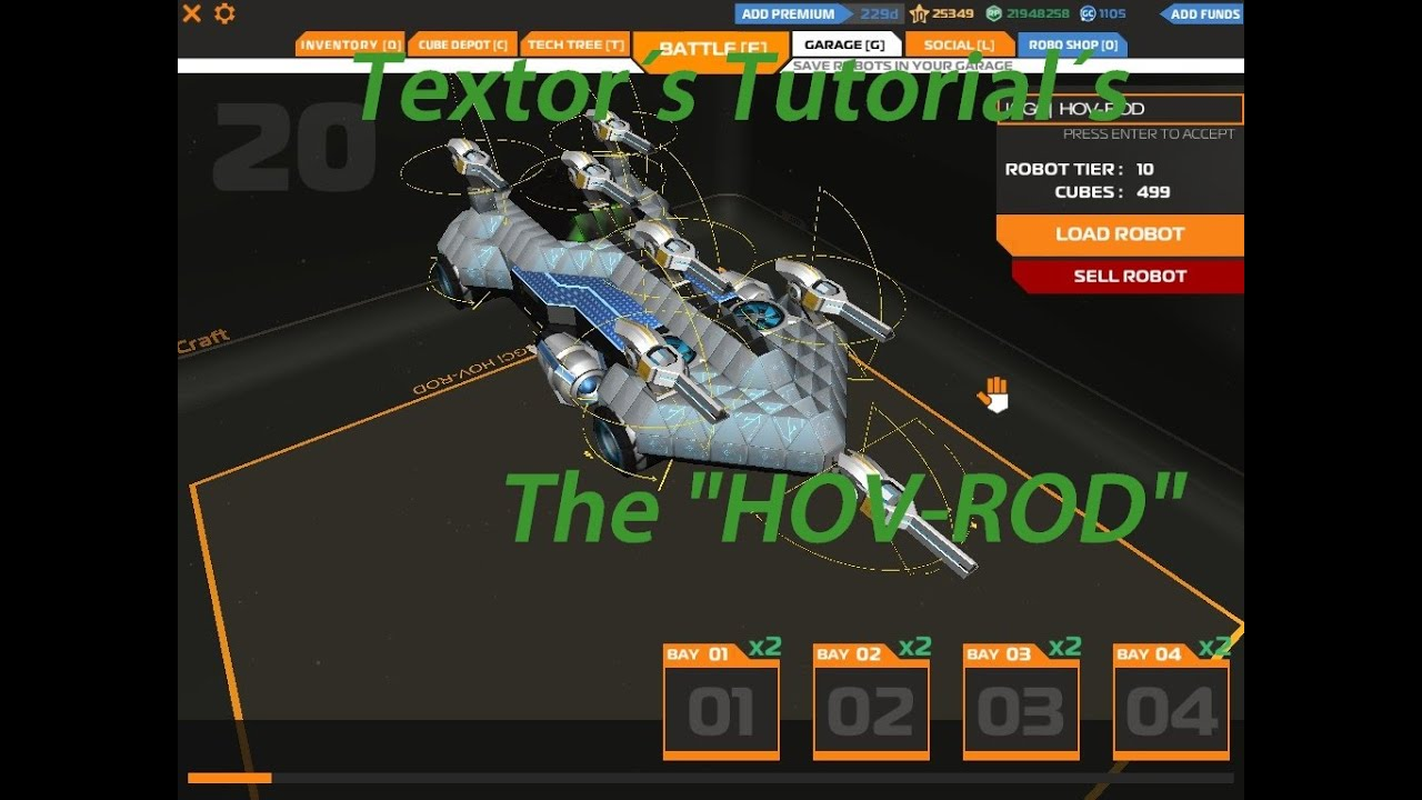 """Download Textor´s Tutorial - The """"HOV-ROD"""""""