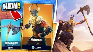 BUYING THE NEW MAGNUS FORTNITE SKIN