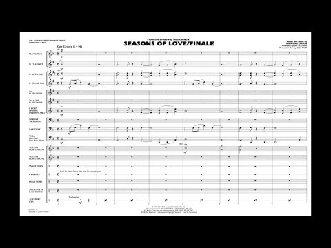 Seasons of Love/Finale (from Rent) by Jonathan Larson/arr. Jay Bocook