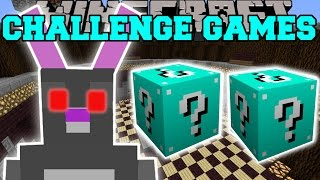 Minecraft: EASTER BUNNY CHALLENGE GAMES - Lucky Block Mod - Modded Mini-Game