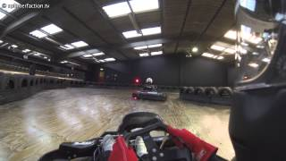 Karting at TeamSport Crawley: 26th May 2013 - Group 1, session 3 (GoPro H3)