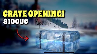 8100UC Crate Opening | PUBG Mobile | 100 Dollar Experiment!
