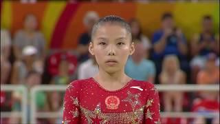 Shang Chunsong (CHN) Uneven Bars 2016 Olympics D-Score (2017-20 Code)