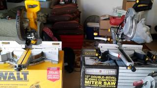 Dewalt Dws782 Vs Harbor Freight 12in Miter Saw