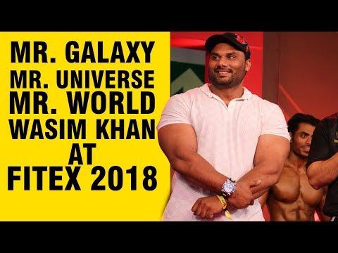 WASIM KHAN | MR. GALAXY | MR. UNIVERSE | MR. WORLD | FITNESSGURU MAGAZINE