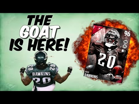 THE GOAT IS HERE! BRIAN DAWKINS AND FLETCHER COX DEBUT! Madden 16 Ultimate Team
